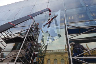 National Theater – large format windows replacement
